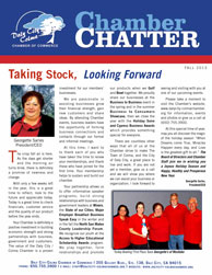 2013 Spring  Edition of the Daly City / Colma Chamber Chatter