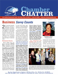 2013 Summer  Edition of the Daly City / Colma Chamber Chatter