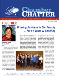 2014 Spring  Edition of the Daly City/Colma Chamber Chatter